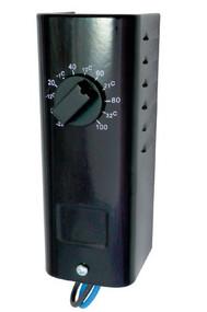 KT110 Bi-Metal, 10-100F, 22 Amp, SPST, Heat Only, 6'' Leads