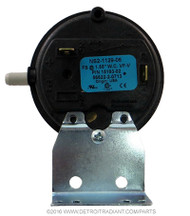 Part Number	UF-642 Description	Pressure Switch, 1.55″ WC Used On	UH and FA