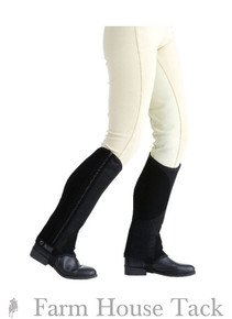 Saxon Child's Equi Leather  Half Chaps