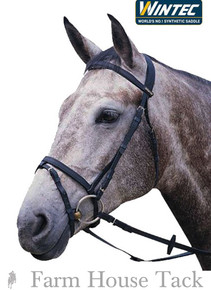 Wintec English Flash Noseband Bridle