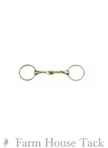 Centaur Slow Twist Loose Ring Snaffle