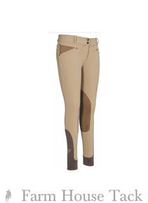 Tuffrider Ladies Sydney Knee Patch Breeches