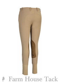 EC Champion Ladies Side Zip Coolmax Breeches with Euroseat