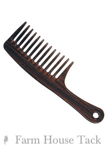 Woodgrain Mane & Tail Comb