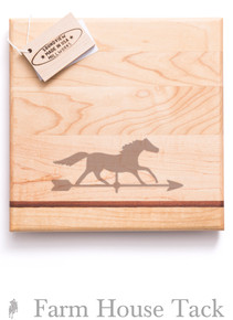 SVM Bar Block - Engraved Horse - Large