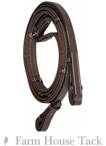 HDR Rubber Lined Web Reins