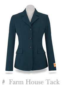 R.J. Classics Ladies Monterey Green Herringbone Soft Shell Coat