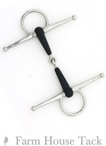 Centaur Eco Pure Full Cheek Jointed Snaffle Bit