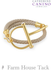 Catherine Canino Classic Equestrian Wrap Bracelet
