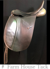 "County WB 19"" Used Dressage Saddle"