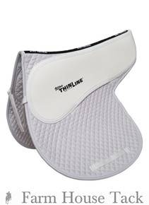 ThinLine Cotton Quilted Fitted All Purpose Saddle Pad