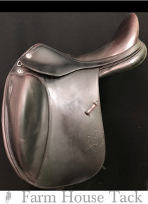 "Prestige X Technology Luxe 18"" Used Dressage Saddle"