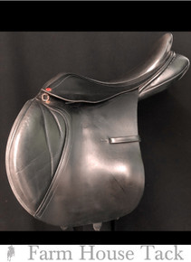 "Albion Kontrol 17.5"" Used  Close Contact Saddle"