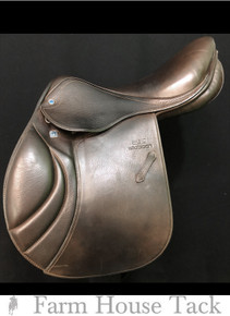 "Stubben Portos Deluxe 17"" Used  Close Contact Saddle"