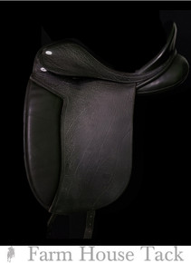 "Legacy 17.5"" Used Dressage Saddle"