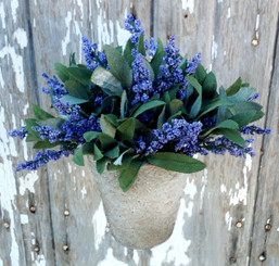 POTTED LAVENDER BLOOM - ARTIFICIAL - PURPLE
