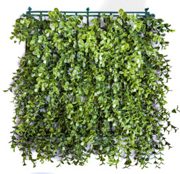 FAUX BOXWOOD - SQUARES (INTERLOCK) - MIN. 24