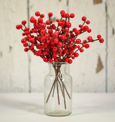 ILEX BERRY PICK - RED - 8""