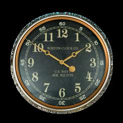 WALL CLOCK - NAVY