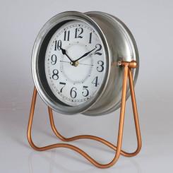 TABLE CLOCK - BRONZE