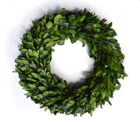 PRESERVED LAUREL WREATH - 21""