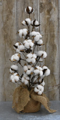 FAUX COTTON TREE - 22""