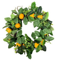 LEMON WREATH 22""