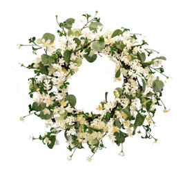 SPRING APPLE BLOSSOM WREATH 20""