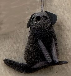 HANDMADE ORNAMENT - BLACK LABRADOR