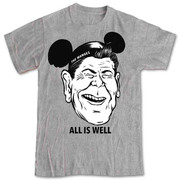 Manges All Is Well Reagan tshirt