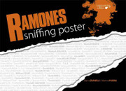 Ramones Sniffing Poster Book