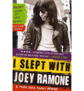 """Book """"I Slept with Joey Ramone"""" by Mickey Leigh"""
