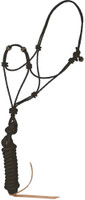 Elite Rope Training Halter Black