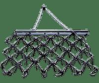 4'X6' CHAIN HARROW WITH DRAW BAR & HITCH