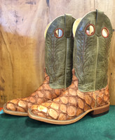 ANDERSON BEAN RUM BROWN BASS BOOTS