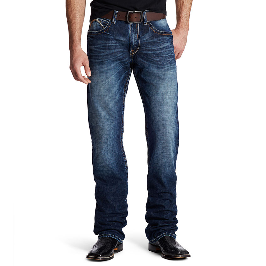 MEN'S ARIAT AUSTIN RIVERTON BOOT CUT JEANS