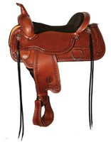 "CIRCLE Y ""LARAMIE"" FLEX2 TRAIL SADDLE - SEAT 17"""