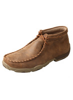 TWISTED X MENS TAUPE DRIVING MOC