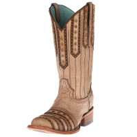 CORRAL TAN STUDDED COWGIRL BOOT - FREE SHIPPING