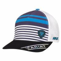 ARIAT BLUE STRIPE CAP