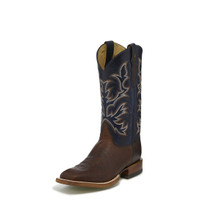 JUSTIN ANTIQUE SADDLE BOOTS