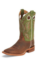 JUSTIN BENT RAIL COGNAC POTEGGIO BOOTS - FREE SHIPPING