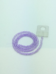 3mm Alexandrite Faceted Bicone