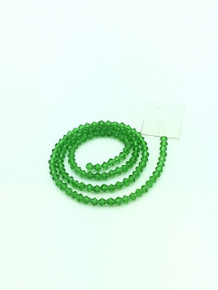 4mm Peridot Faceted Bicone