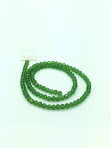 6mm Peridot Faceted Round