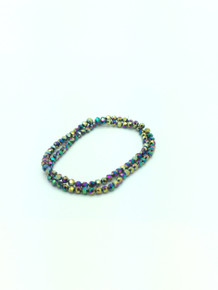 6mm Rainbow Faceted Round