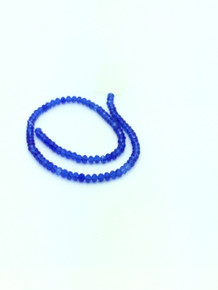 6x5mm Sapphire Faceted Rondelle