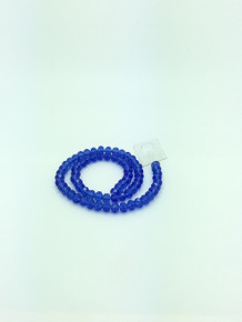 8x6mm Sapphire Faceted Rondelle