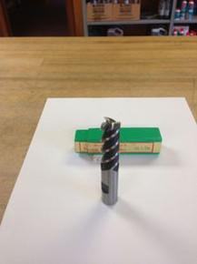 "5/8"" 3-Flute, 60-Degree Helical End Mill, 10% Super Cobalt HSS, New"