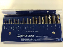 Morse #103  20-Piece Tap and Drill Set